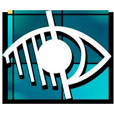 Icono Ayudas Más - Visión