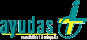 Logo en 3D de Ayudas Más
