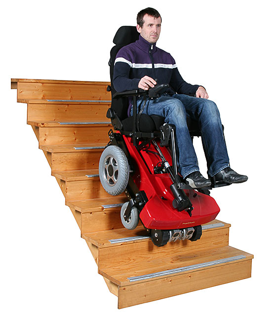 Silla eléctríca salva escaleras