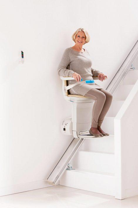 Silla elevadora en viviendas